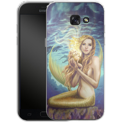 Samsung Galaxy A5 (2017) Silikon Handyhuelle - Selina Fenech - Holding Magic von TATE and CO