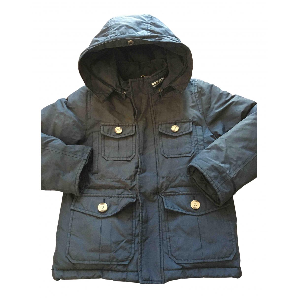 Woolrich - Blousons.Manteaux   pour enfant - bleu