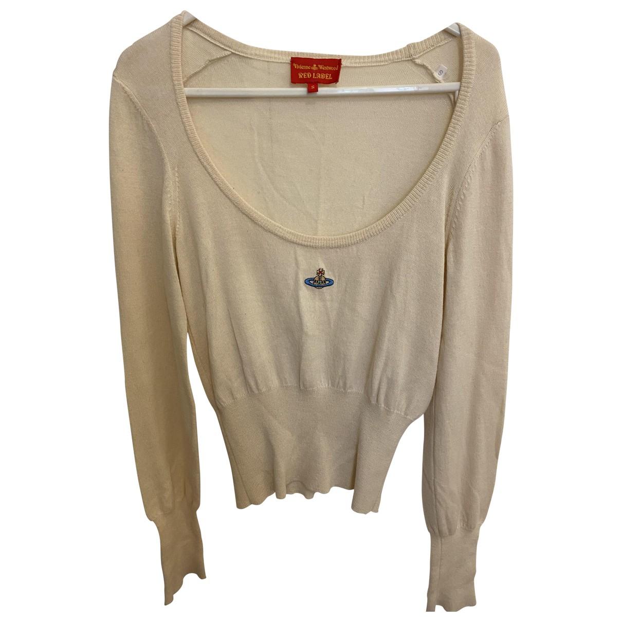 Vivienne Westwood Red Label - Pull   pour femme en laine - beige