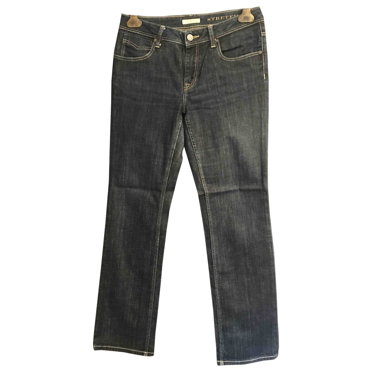 Burberry \N Blue Cotton - elasthane Jeans for Women 29 US