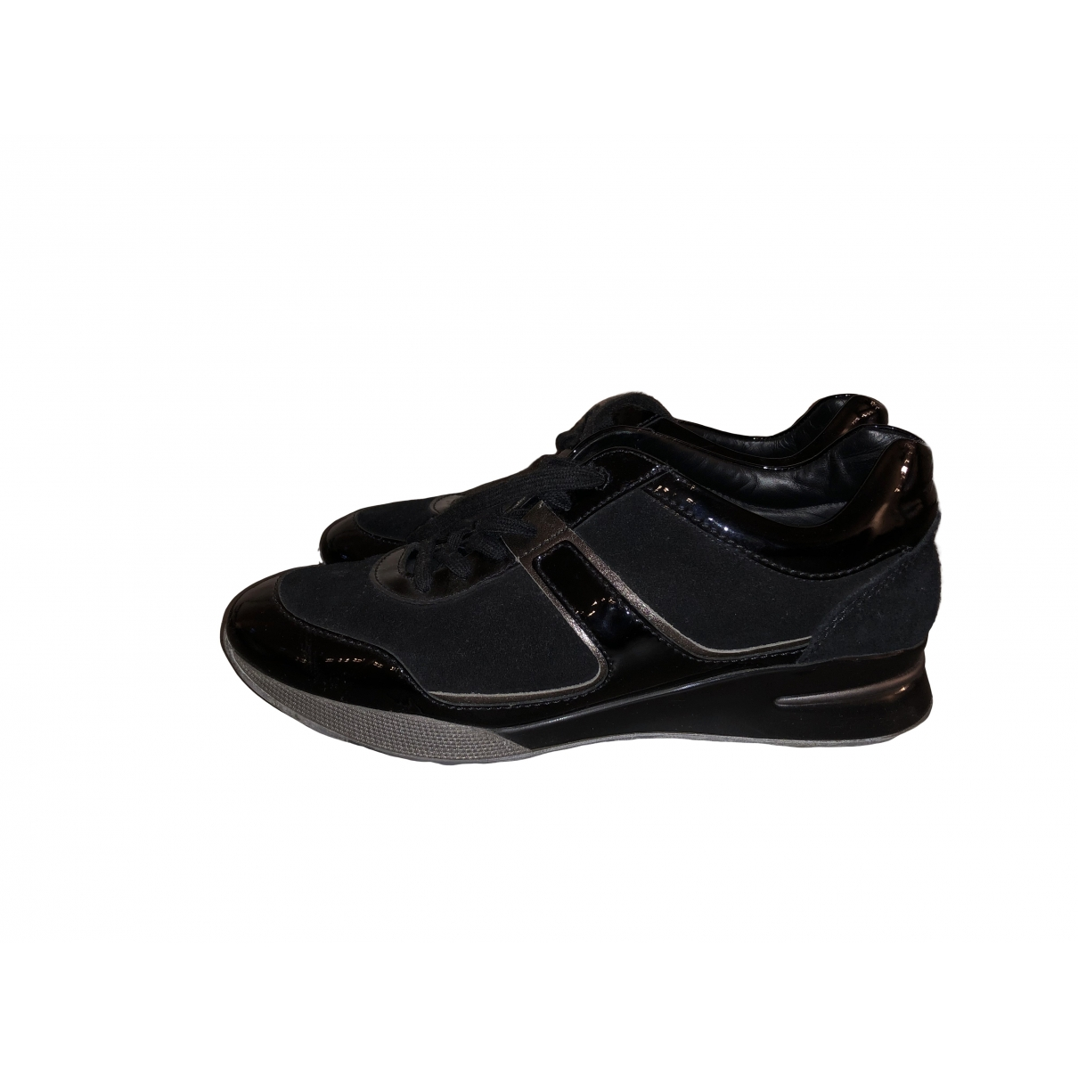 Tod's \N Black Suede Trainers for Women 39 EU