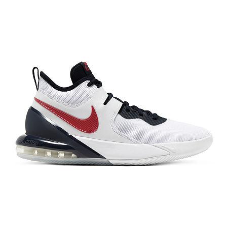 Nike Air Max Impact Mens Basketball Shoes, 10 1/2 Medium, White
