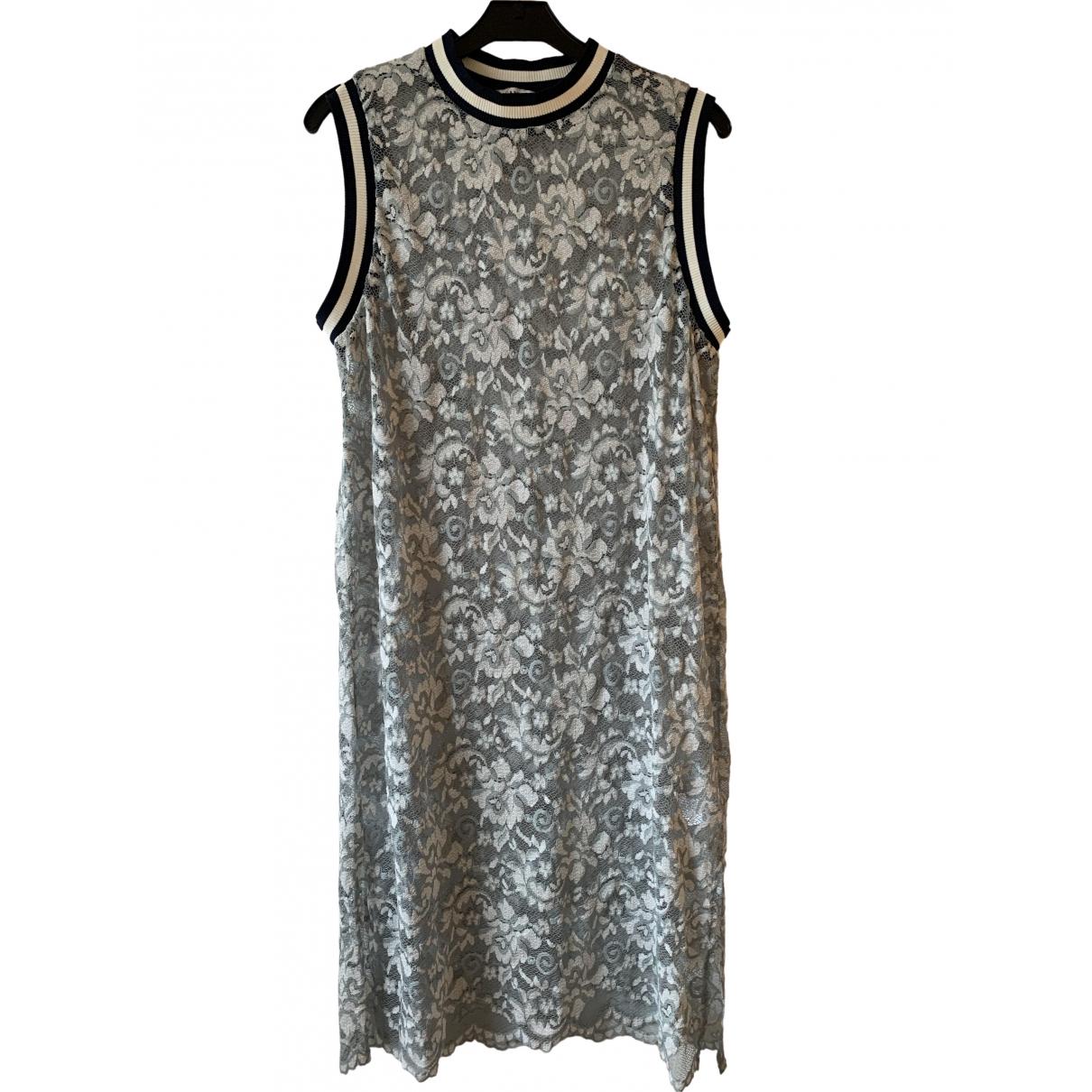 Ganni \N Kleid in  Bunt Polyester