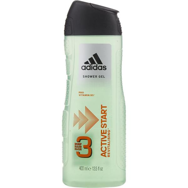 Active Start - Adidas Gel de ducha cuerpo y cabello 400 ml