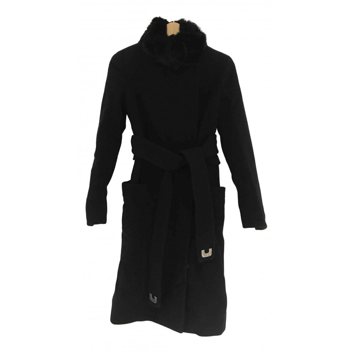 Diane Von Furstenberg N Black Wool coat for Women 2 US