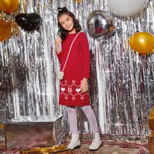 Vestidos jerseys de niñas Geometrico Casual