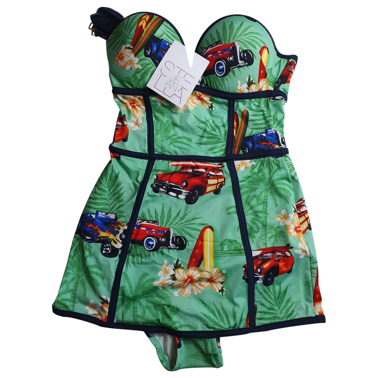 Stella Jean \N Green Lycra Swimwear for Women 40 IT