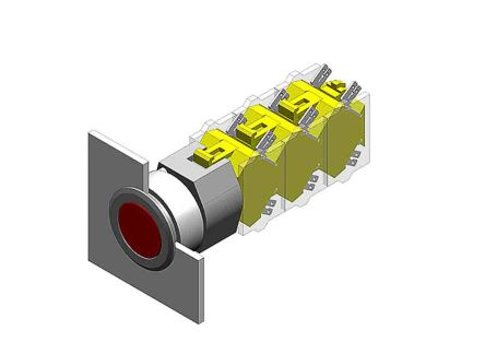 EAO Modular Switch Actuator for use with Series 04