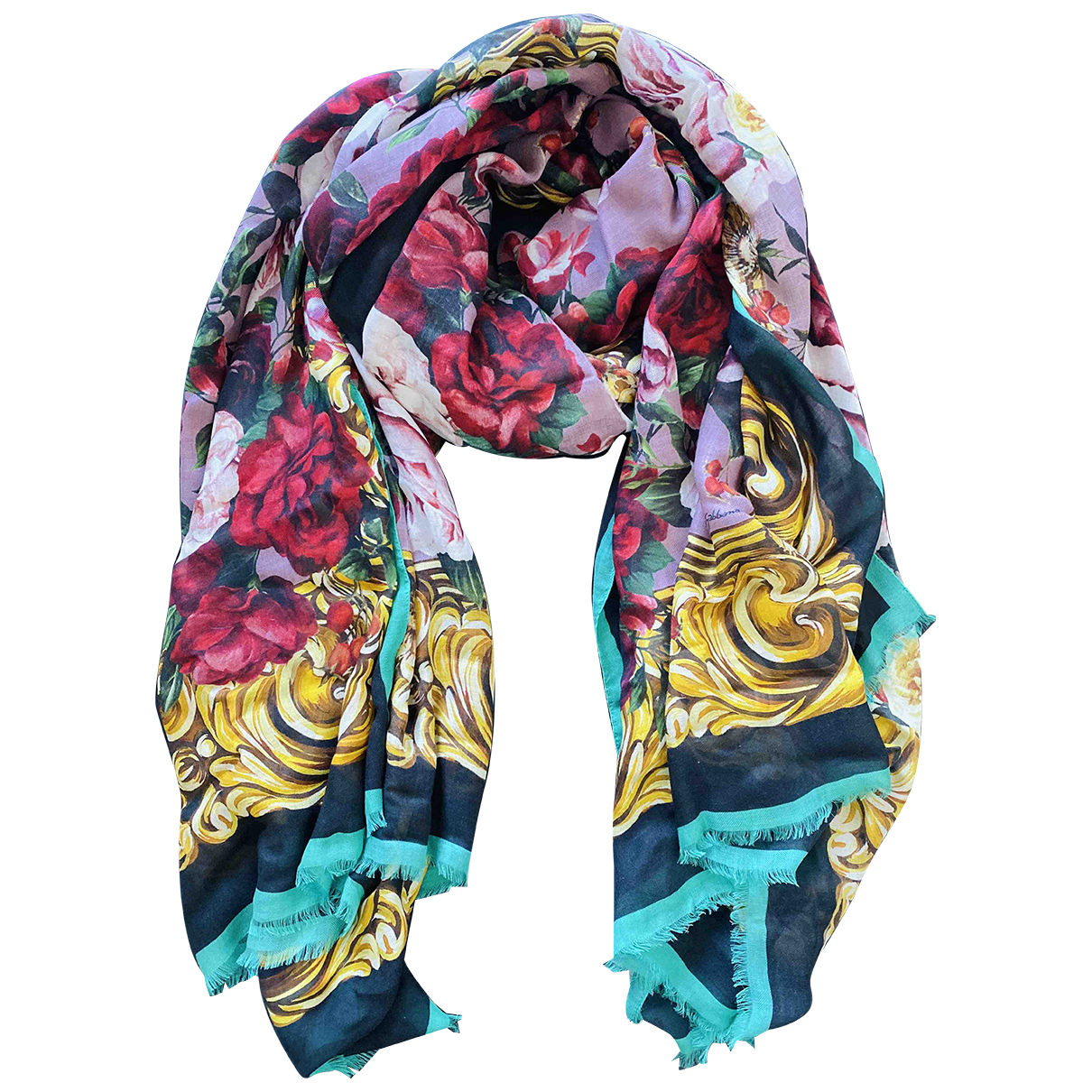 Dolce & Gabbana N Multicolour Cashmere scarf for Women N