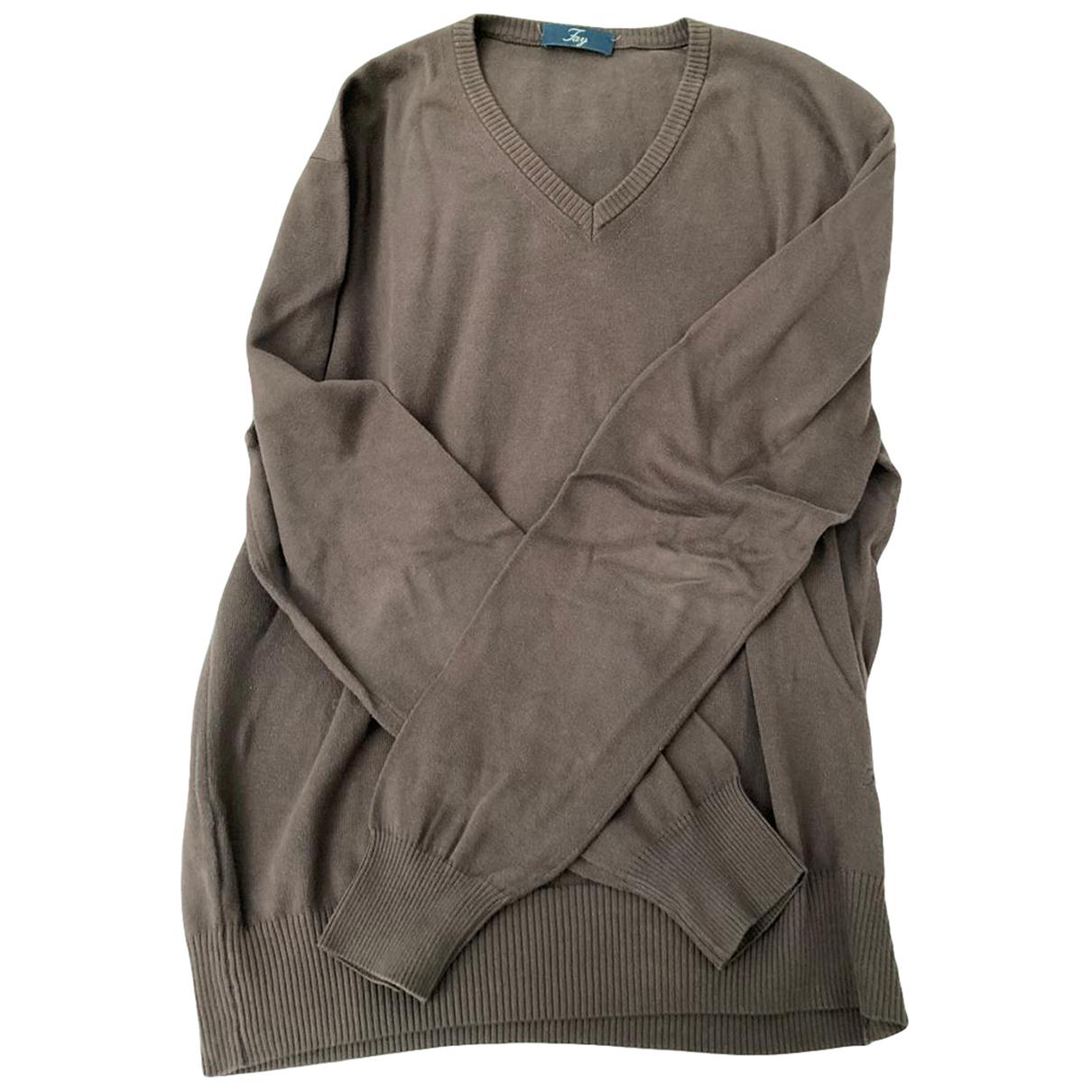 Fay \N Pullover.Westen.Sweatshirts  in  Braun Baumwolle
