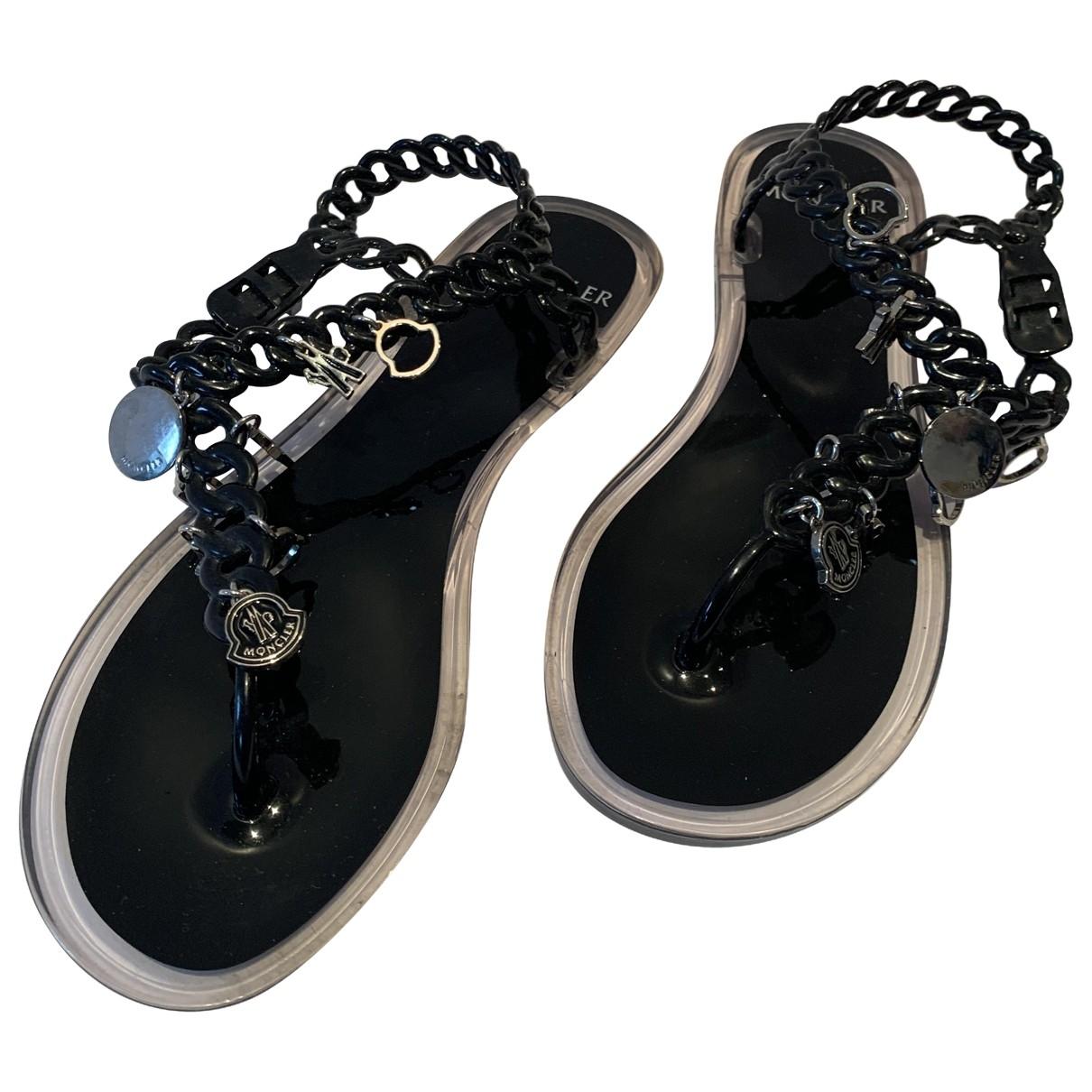 Moncler - Sandales   pour femme - noir