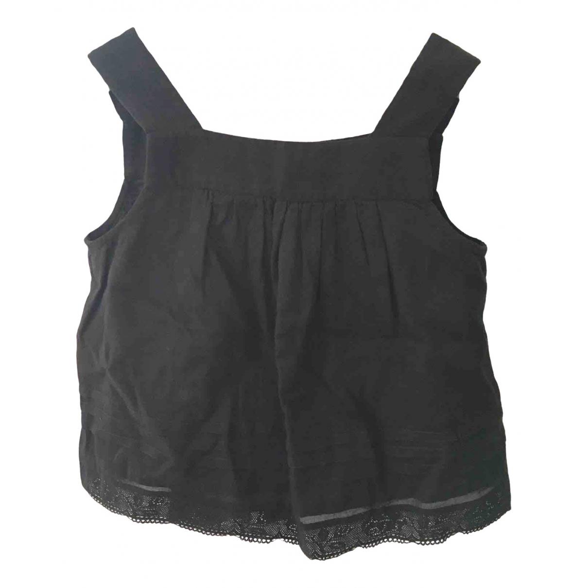 Bonpoint - Top   pour enfant en coton - anthracite