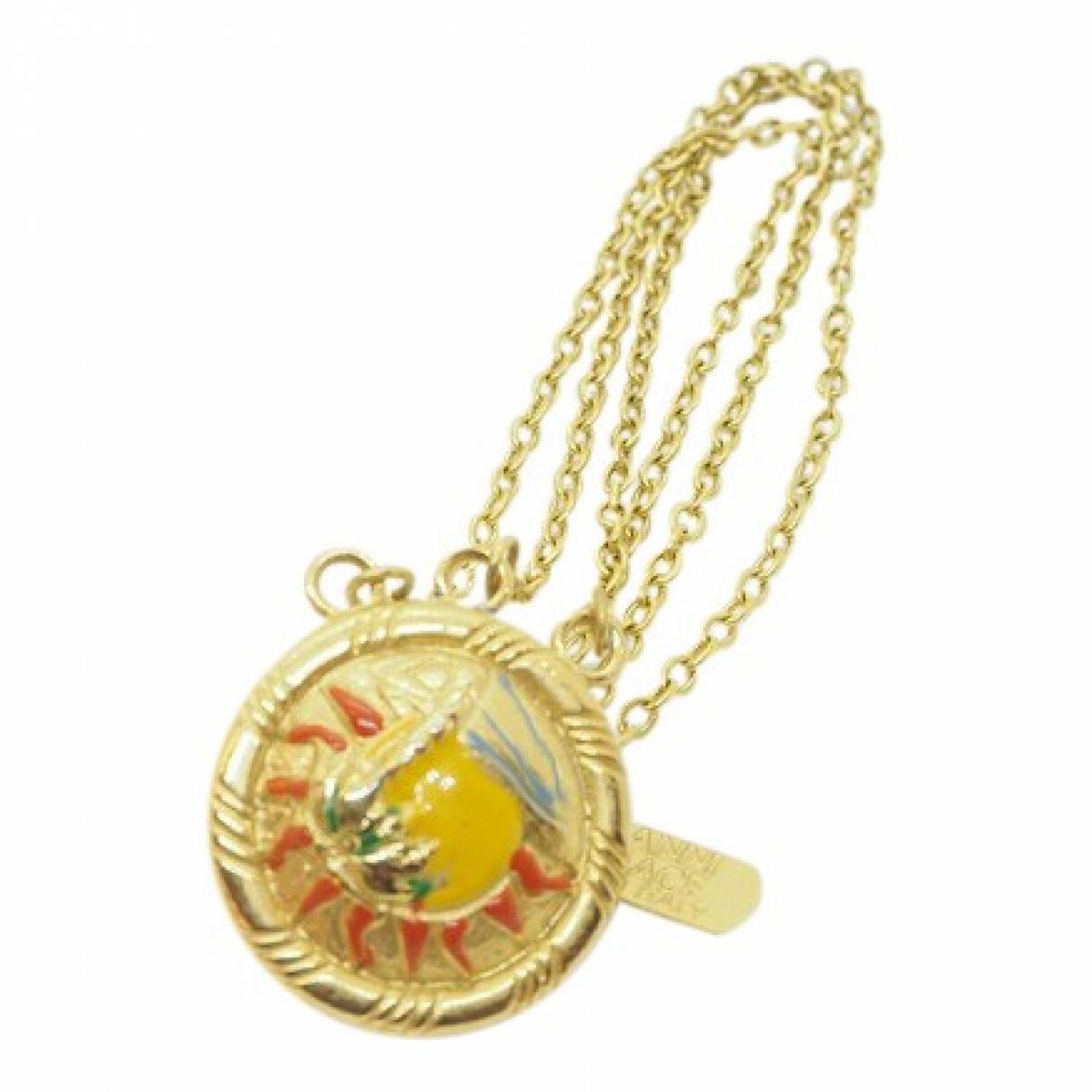 Broche en Chapado en oro Dorado Versace