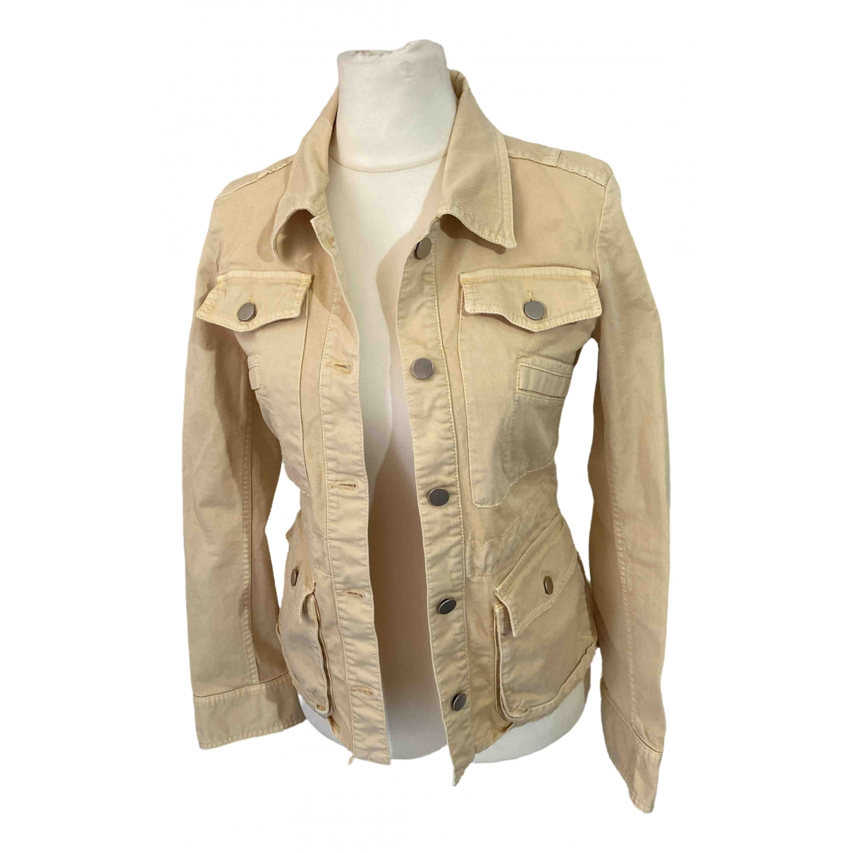 M Missoni - Veste   pour femme en coton - beige
