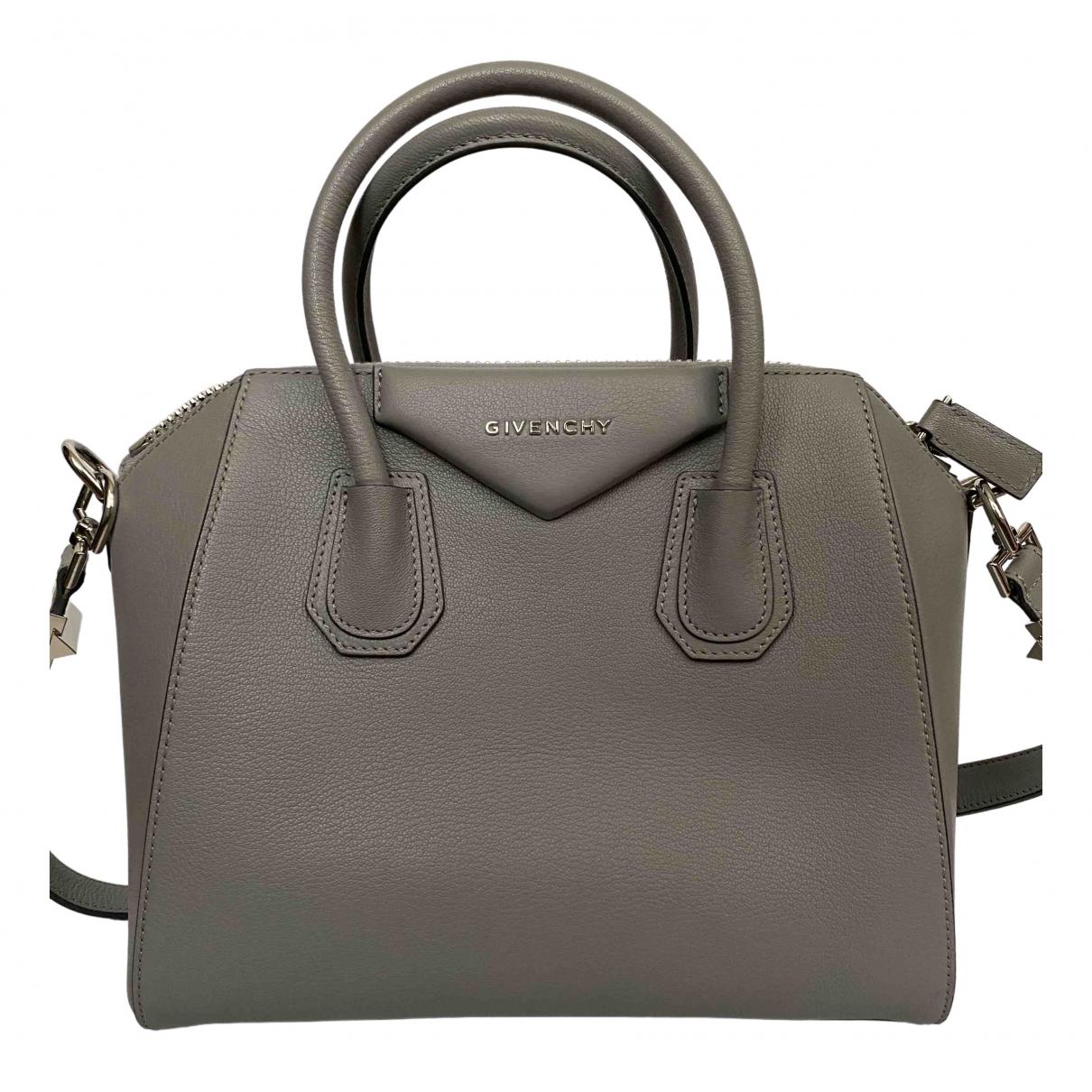 Givenchy Antigona Handtasche in  Grau Leder