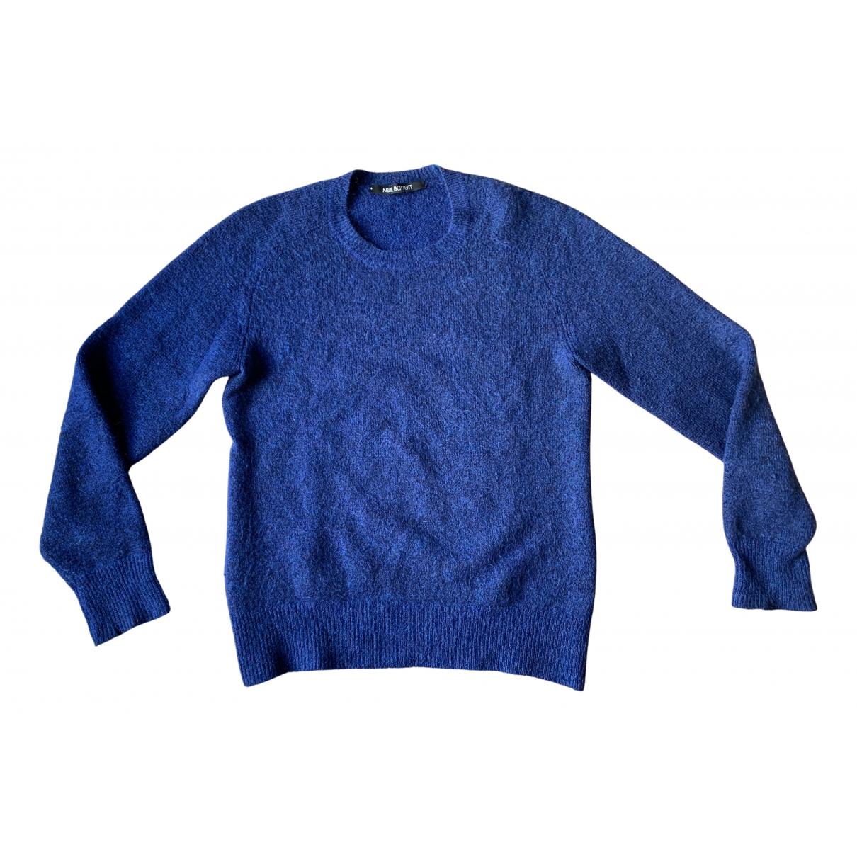 Neil Barrett \N Pullover.Westen.Sweatshirts  in  Blau Wolle