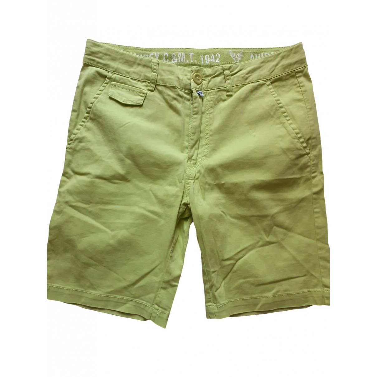 Avirex \N Green Cotton Shorts for Kids 12 years - XS FR