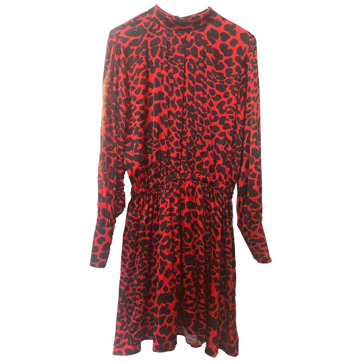 Federica Tosi \N Kleid in  Rot Seide