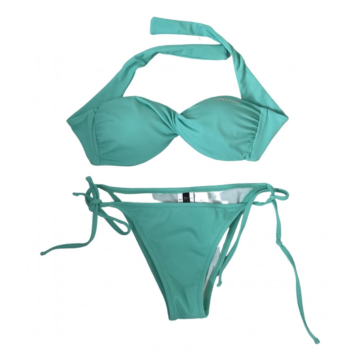 Guess - Bain   pour femme en lycra - turquoise