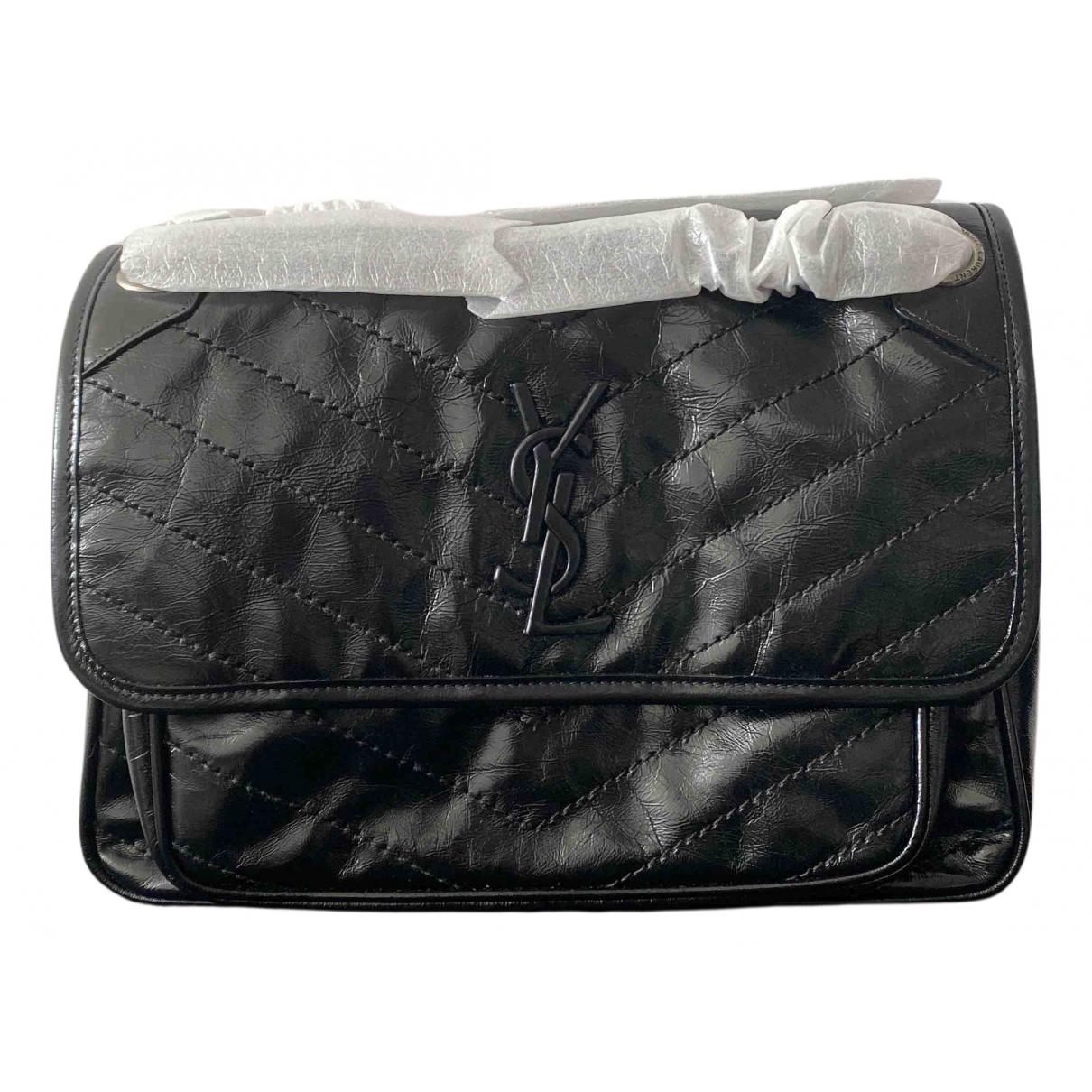 Saint Laurent Niki Black Leather handbag for Women N