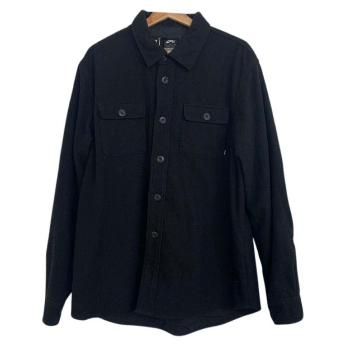 Nike \N Hemden in  Schwarz Wolle