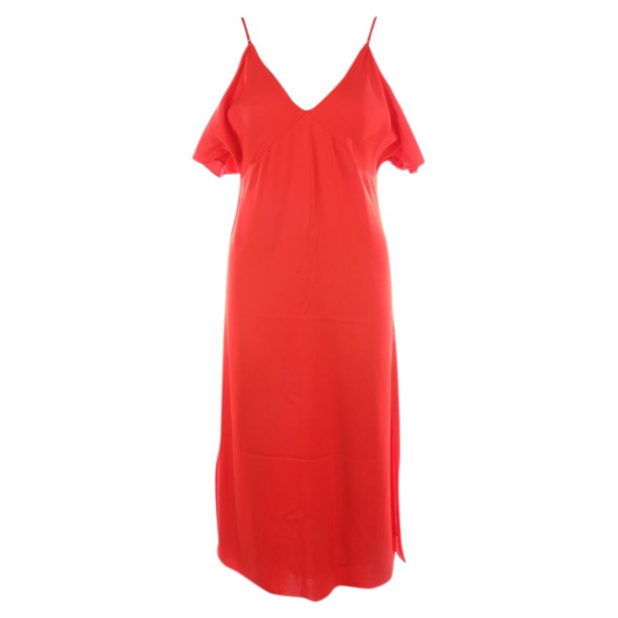Alexander Wang \N Kleid in  Rot Viskose