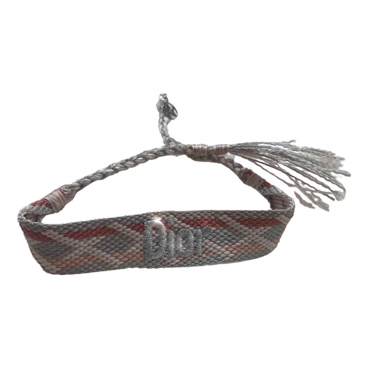 Dior - Bracelet   pour femme en toile - multicolore