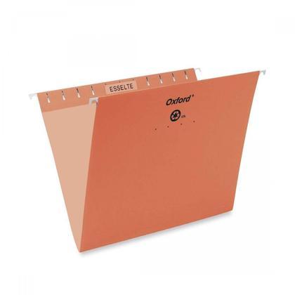 Pendaflex@ Essentials Esselte Oxford couleur dossiers suspendus - orange ,Letter 486563