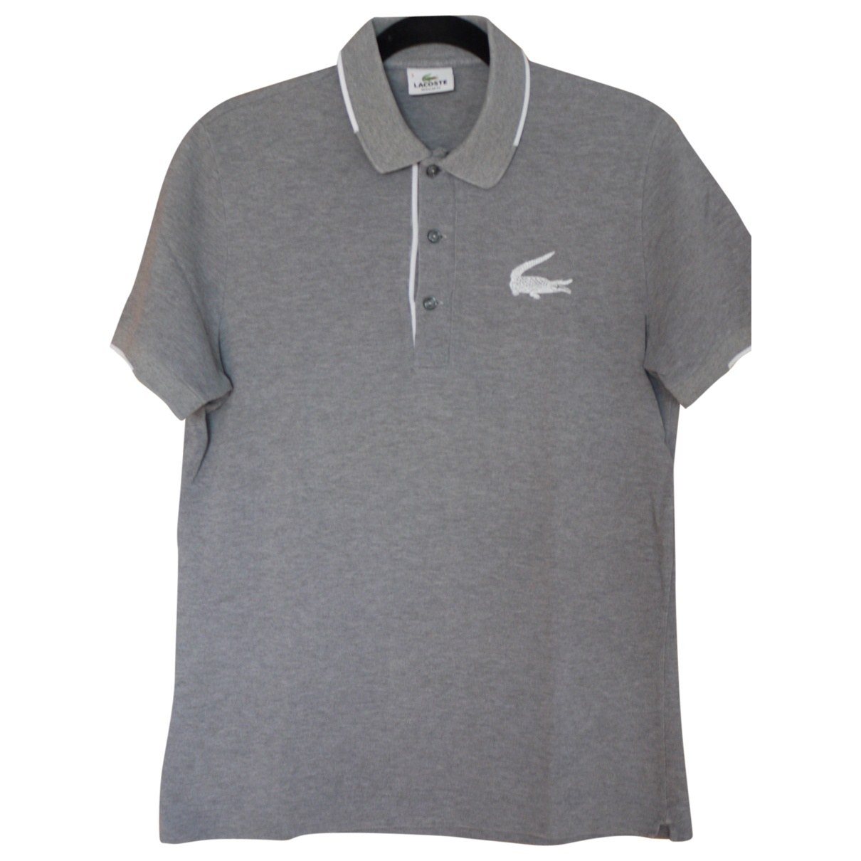 Lacoste \N Grey Cotton Polo shirts for Men 3 0 - 6