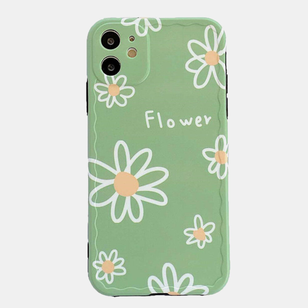 Small Daisy Mobile Phone Case for Iphone Silicone Soft Case
