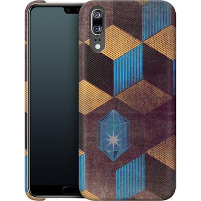 Huawei P20 Smartphone Huelle - Cubes Gems von Brent Williams