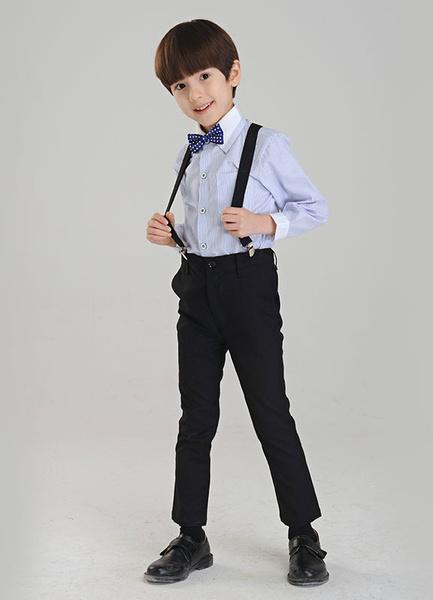 Milanoo Multicolor Boys Suit Bow Tie Polyester Childrens Suit