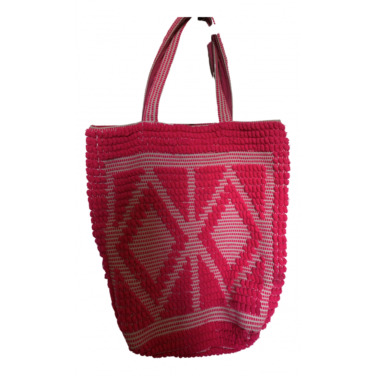 Essentiel Antwerp \N Pink Cotton handbag for Women \N