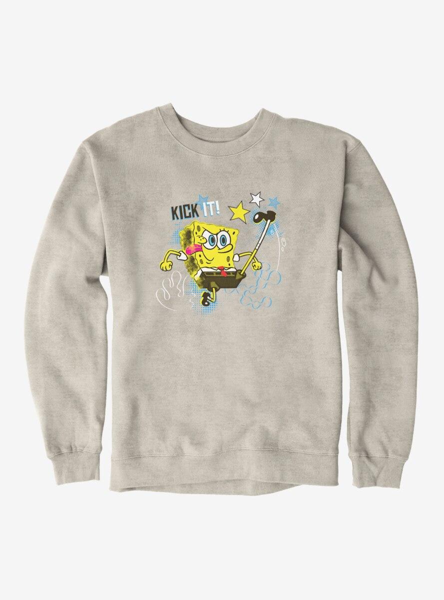 SpongeBob SquarePants Kick It Like SpongeBob Sweatshirt