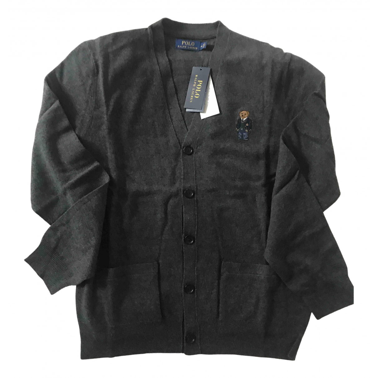 Polo Ralph Lauren - Pulls.Gilets.Sweats   pour homme en coton - gris
