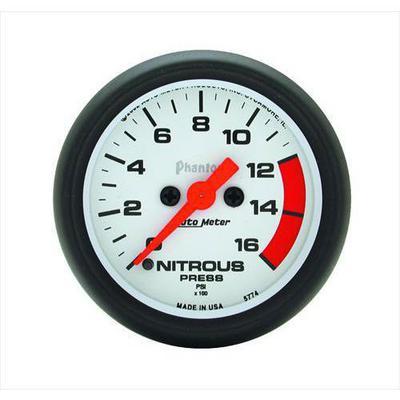 Auto Meter Phantom Electric Nitrous Pressure Gauge - 5774