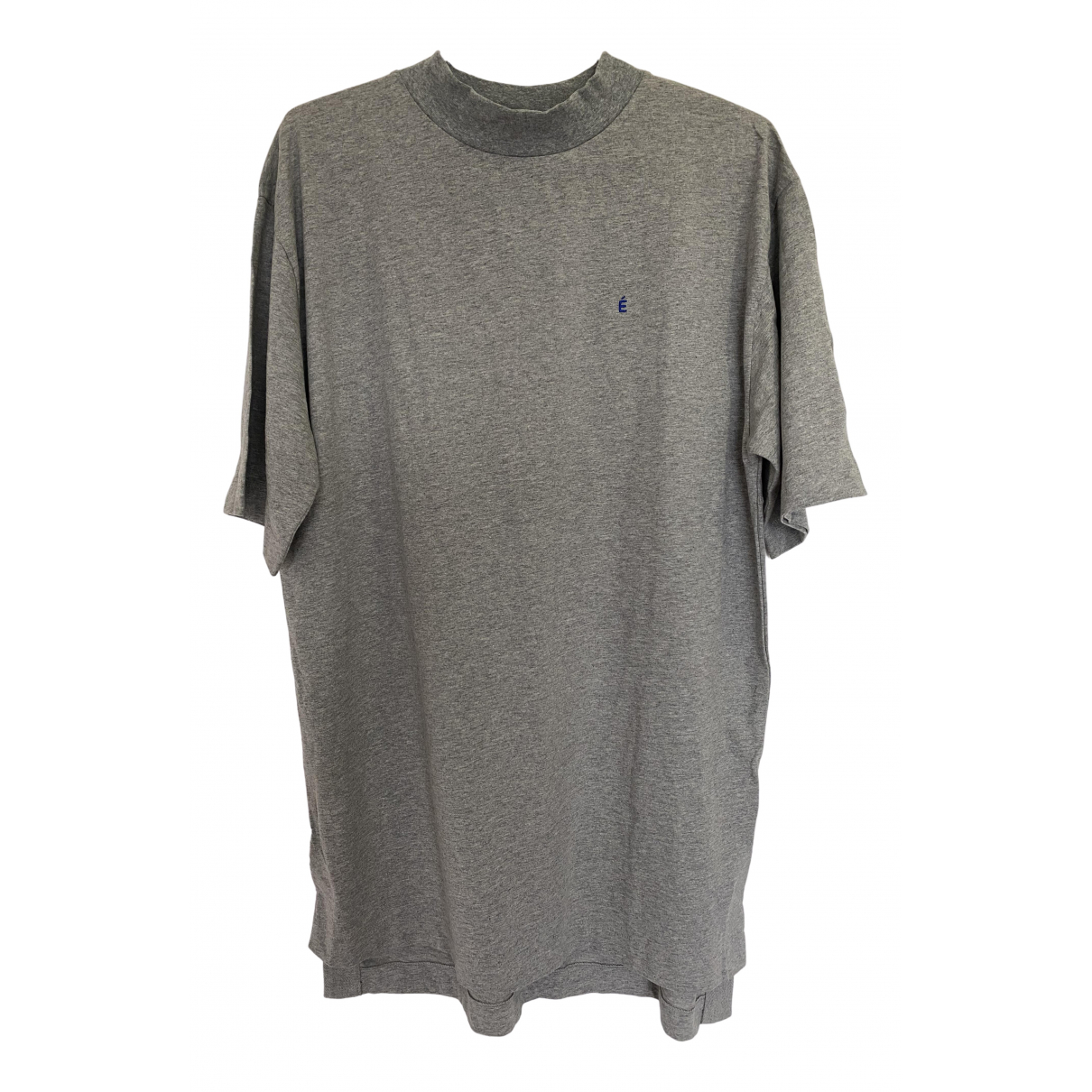 Études Studio N Grey Cotton T-shirts for Men M International