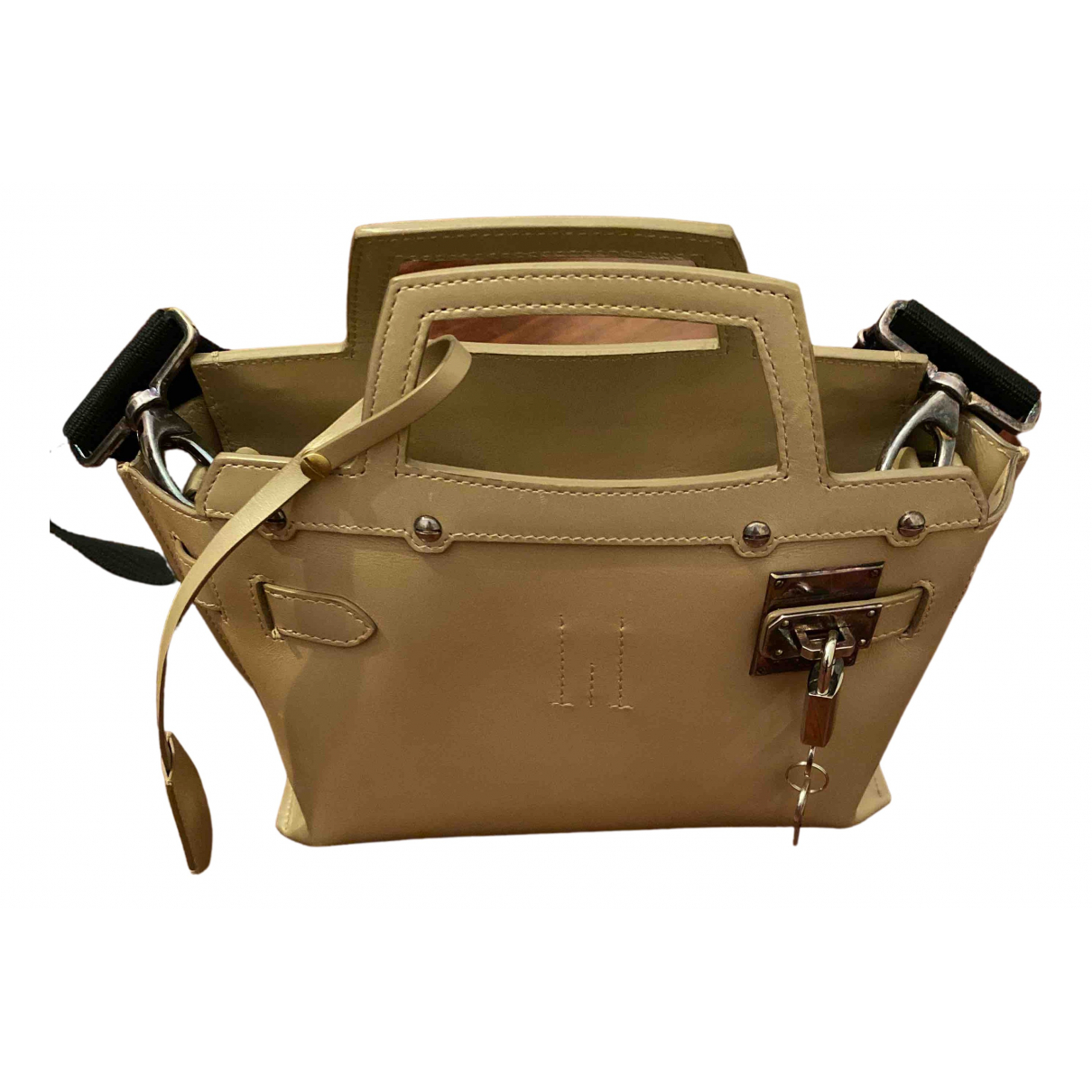 Golden Goose \N Gold Leather handbag for Women \N