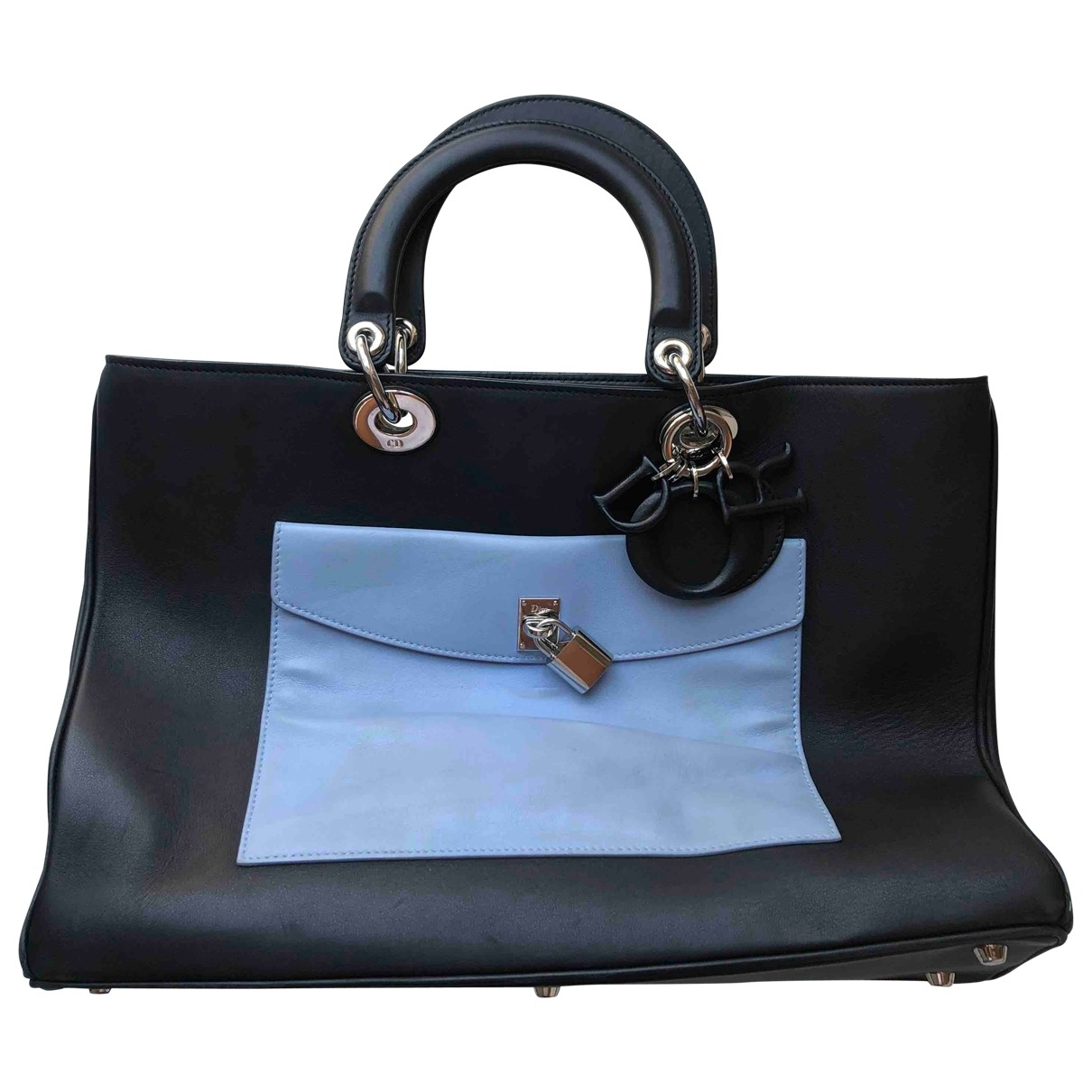 Dior Diorissimo Black Leather handbag for Women \N