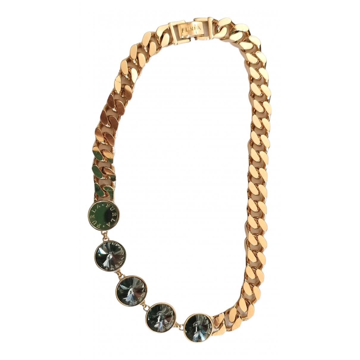 Furla \N Kette in  Gold Metall