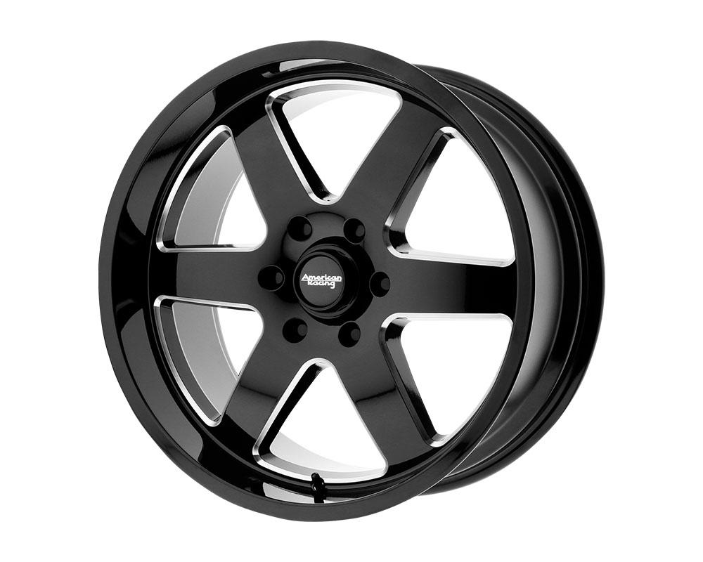 American Racing AR926 Patrol Wheel 17x8.5 6x6x139.7 +0mm Gloss Black Milled