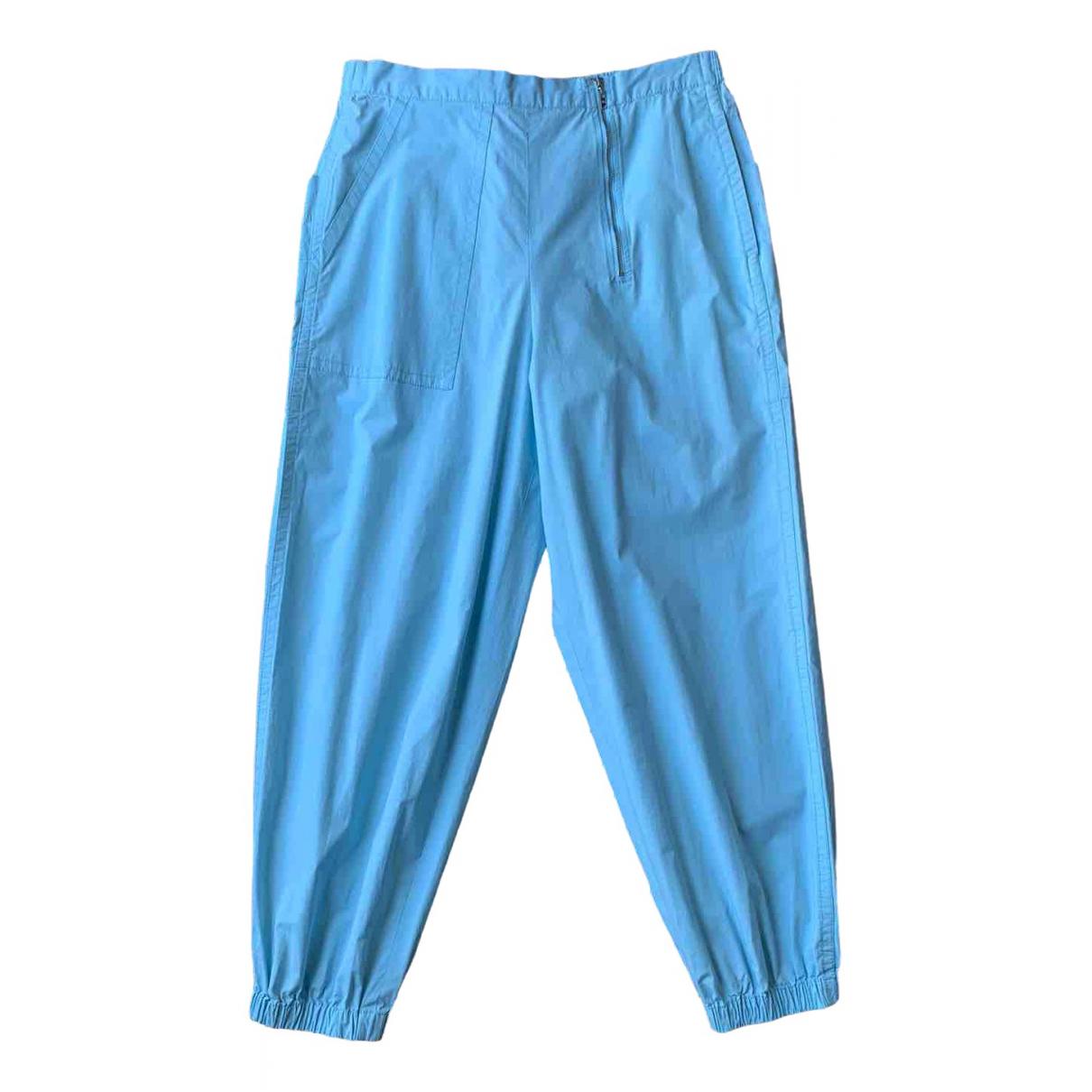 Marc Jacobs - Pantalon   pour femme en coton - bleu