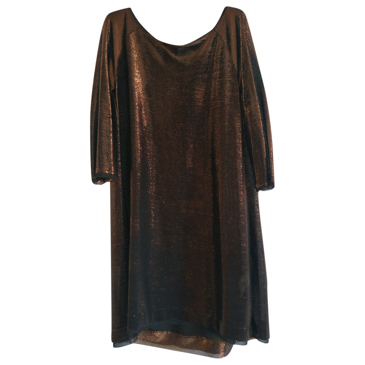 Attic And Barn \N Metallic dress for Women M International