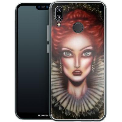 Huawei P20 Lite Silikon Handyhuelle - Queen Elizabeth I von Tiago Azevedo