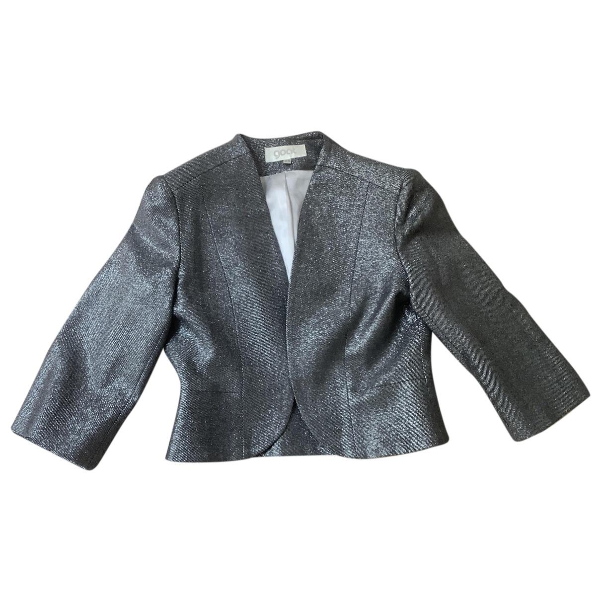 Goat \N Silver Silk jacket for Women 10 UK