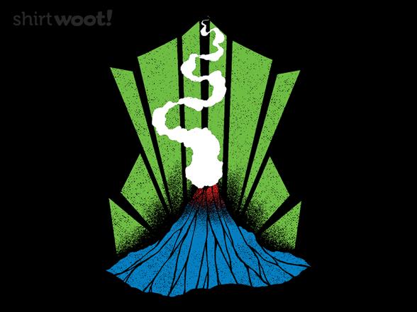 Brilliant Eruption T Shirt