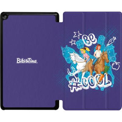 Amazon Fire HD 8 (2017) Tablet Smart Case - Bibi und Tina Be Cool von Bibi & Tina