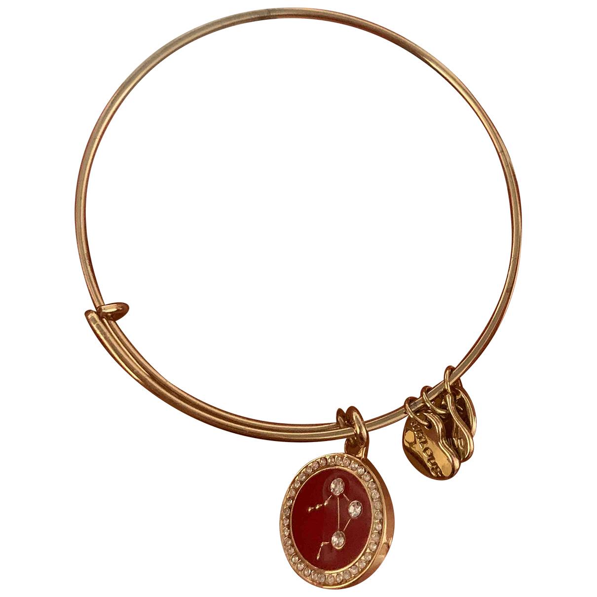 - Bracelet   pour femme en metal - dore