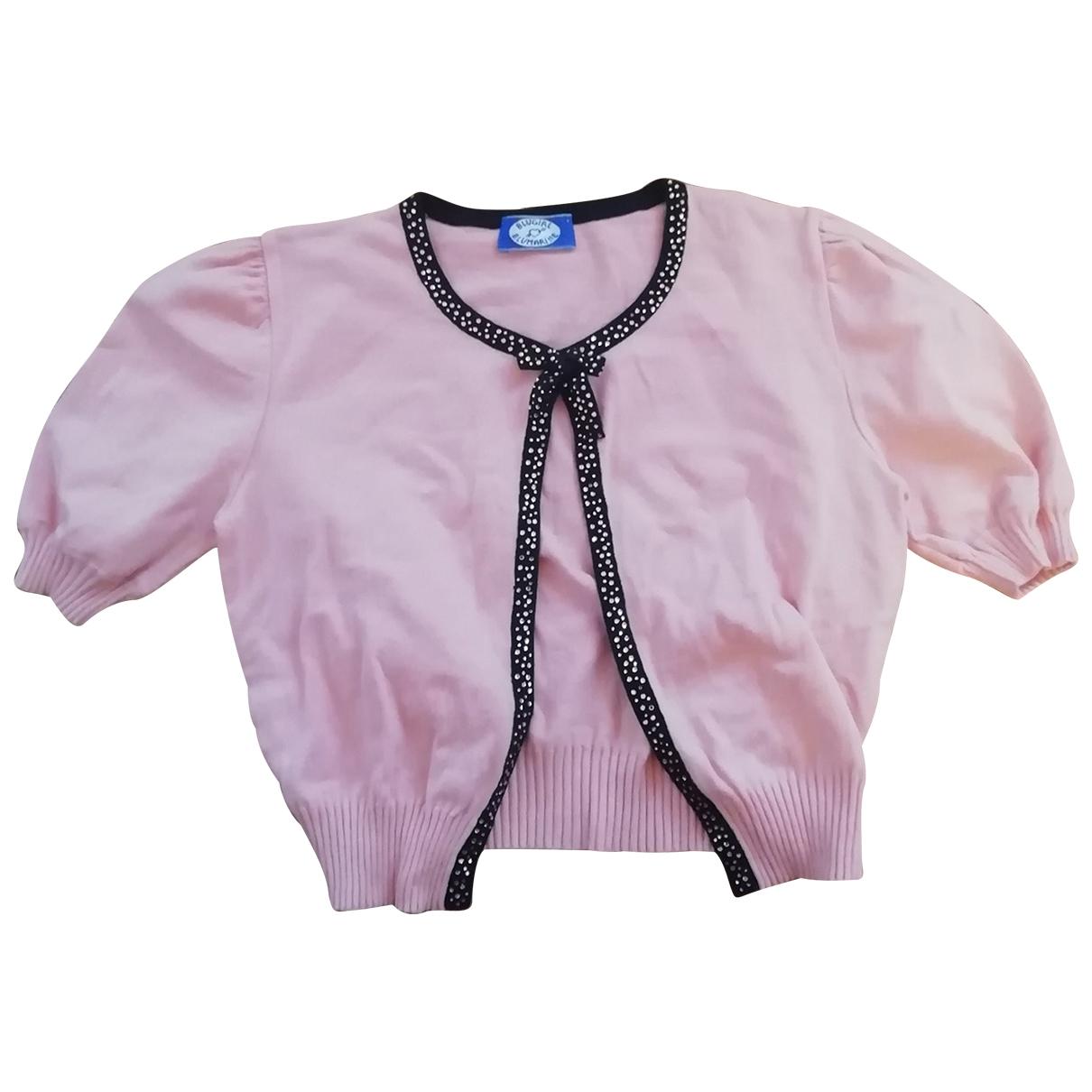 Blumarine - Pull   pour femme en coton - rose