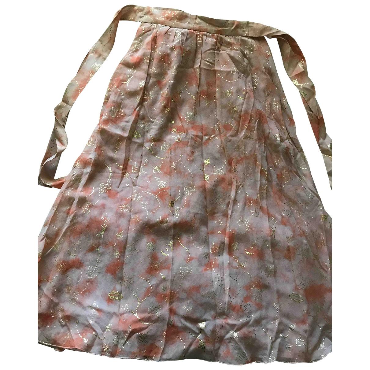 & Other Stories - Jupe   pour femme en soie - rose